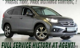 2013 Honda CR-V CRV 2.4 EXECUTIVE A/
